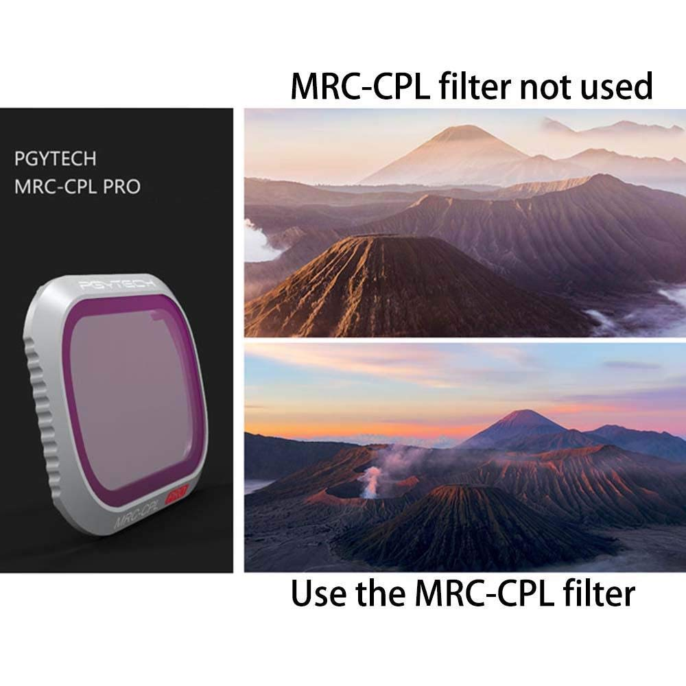 Favrison Kamera Objektiv Filter ND8+16+32+64 (4pcs) für DJI Mavic 2 2 2 Pro, Professionelles Kamera Filter Gradientendimmset 9539b3