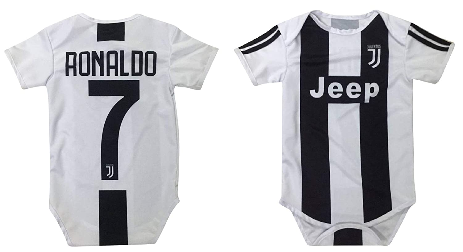 best website a7478 8d9f2 Kitbag Cristiano Ronaldo Juventus #7 Soccer Jersey Baby Romper Infant  Toddler Onesie Premium Quality