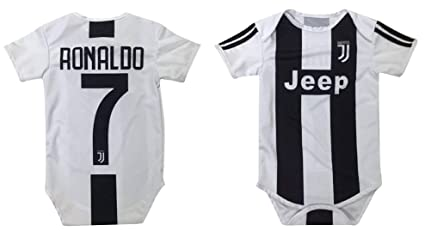 c0a4bc9b6 Kitbag Cristiano Ronaldo Juventus #7 Soccer Jersey Baby Romper Infant  Toddler Onesie Premium Quality (
