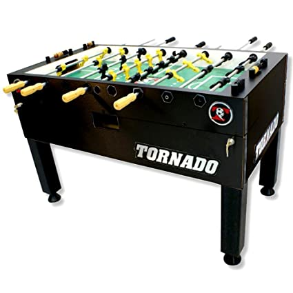 amazon com tornado tournament 3000 foosball table black 3 man rh amazon com