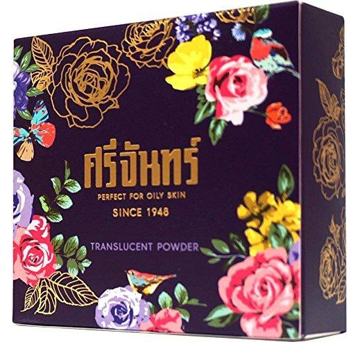 Srichand Translucent Face Powder Thai Herb Oil Control Silky Smooth Skin 10 g. Thai Product