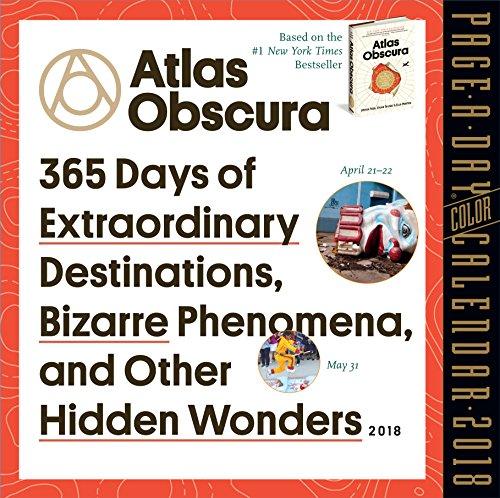 Atlas Obscura Page-A-Day Calendar 2018 cover