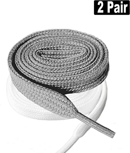 Ice Hockey Skate Flat Shoe Laces Shoelaces Replacement for Unisex Adult Kids