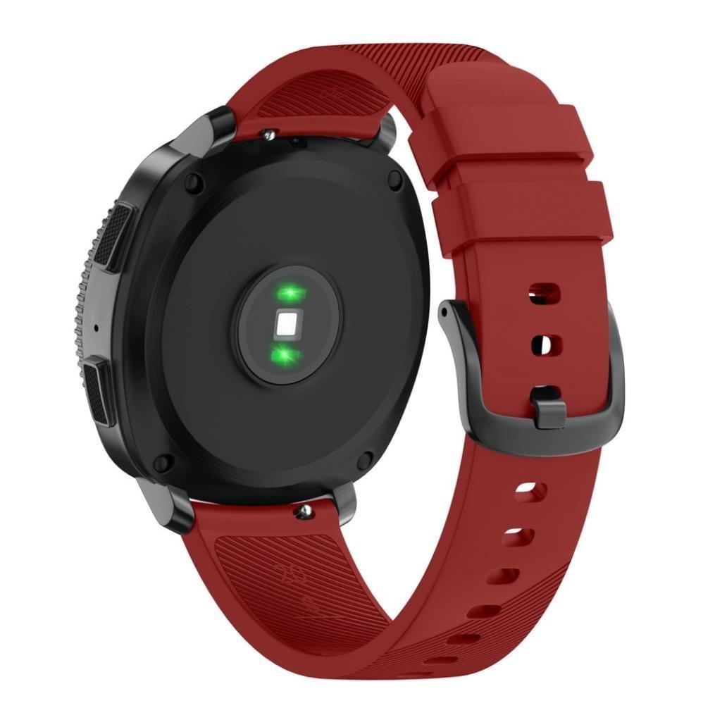 Morbido Braccialetto Sportivo di Ricambio in Silicone per Samsung Gear Sport SM-R600 BarRan/® Gear Sport SM-R600 Cinturino