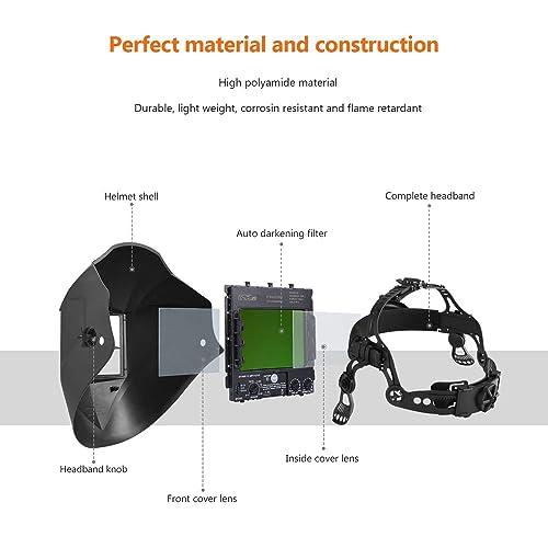 TackLife PAH03D Professional Welding Helmet