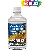 ACRILEX Goma Laca INCOLORA 500ML