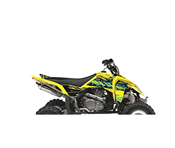 Suzuki LTR 450-06/12-KIT DÉCO KUTVEK ROTOR JAUNE-78104301 ...