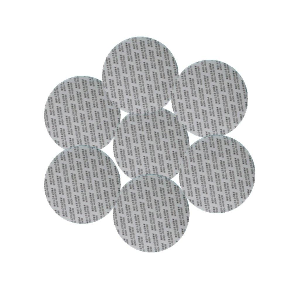 Rewarding Essentials 70 mm Pressure Sensitive PS Foam Cap Liners Tamper Seal Cap Liner Sealed for Your Protection (25) FMSL-70MM