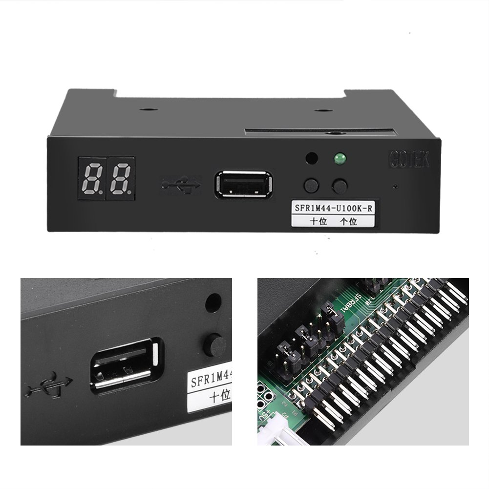 Bewinner USB Emulator SFR1M44-U100K-R 1.44MB 3.5 Inch USB SSD Floppy Drive Emulator for Roland E-66,E-86,E-96,G-600,G-800,E-480B,E600,XP-50,V1000 VA-7 Keyboard by Bewinner (Image #4)