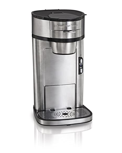 Amazoncom Hamilton Beach 49981a Coffee Maker Single Serve Silver