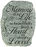 Carson, Garden Stone ''In Memory''
