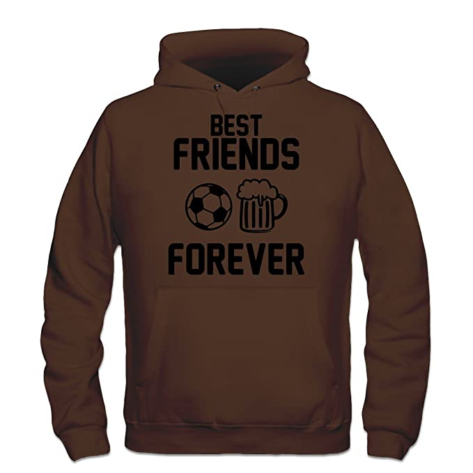 Sudadera con capucha Best Friends Forever Beer Football by Shirtcity: Amazon.es: Ropa y accesorios