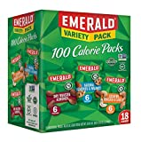 #8: Emerald Nuts Variety Pack, 100 Calorie Almonds, Walnuts, Cashews, 18 Count