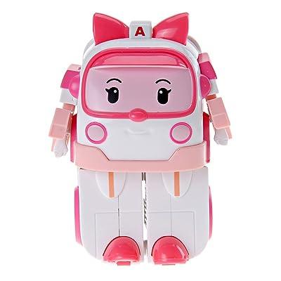 Ouaps - 83172 - Jouet De Premier Age - Robocar VÃhicule Transformable - Ambre: Toys & Games