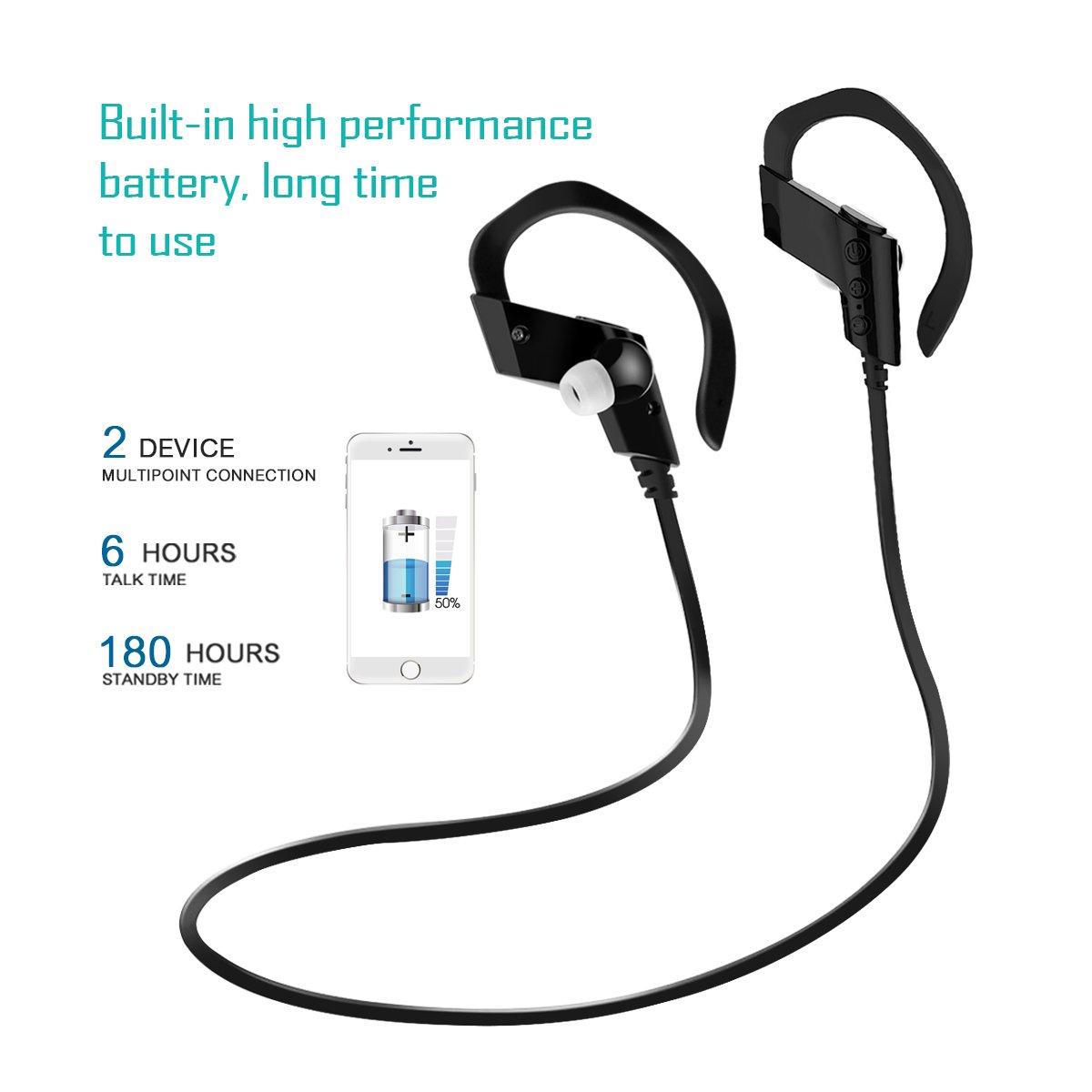 Bluetooth Kopfhörer Drahtloser Kopfhörer Rauschunterdrückung In-Ear ...