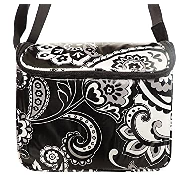 Vera Bradley Stay Cooler Midnight Paisley