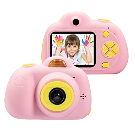 Omzer Kids Camera Gifts For 4 8 Year Old Girls Shockproof Cameras Great Gift