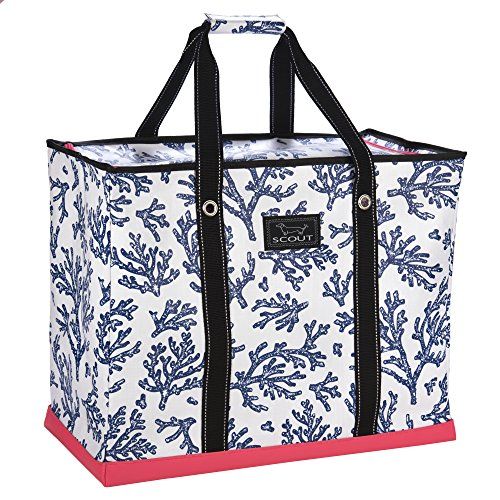 SCOUT 3 Girls Bag, Extra Large Water Resistant, Tote Bag, For the Beach, Pool and Everyday Use, Zips Closed, Areefa!