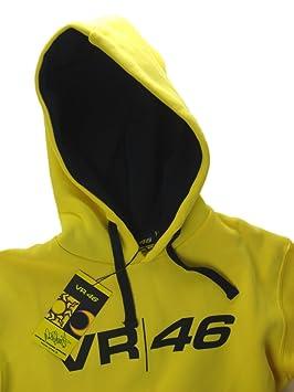 Valentino Rossi vr|46 Amarillo Sudadera con Capucha para Hombre, hombre, amarillo: Amazon.es: Deportes y aire libre