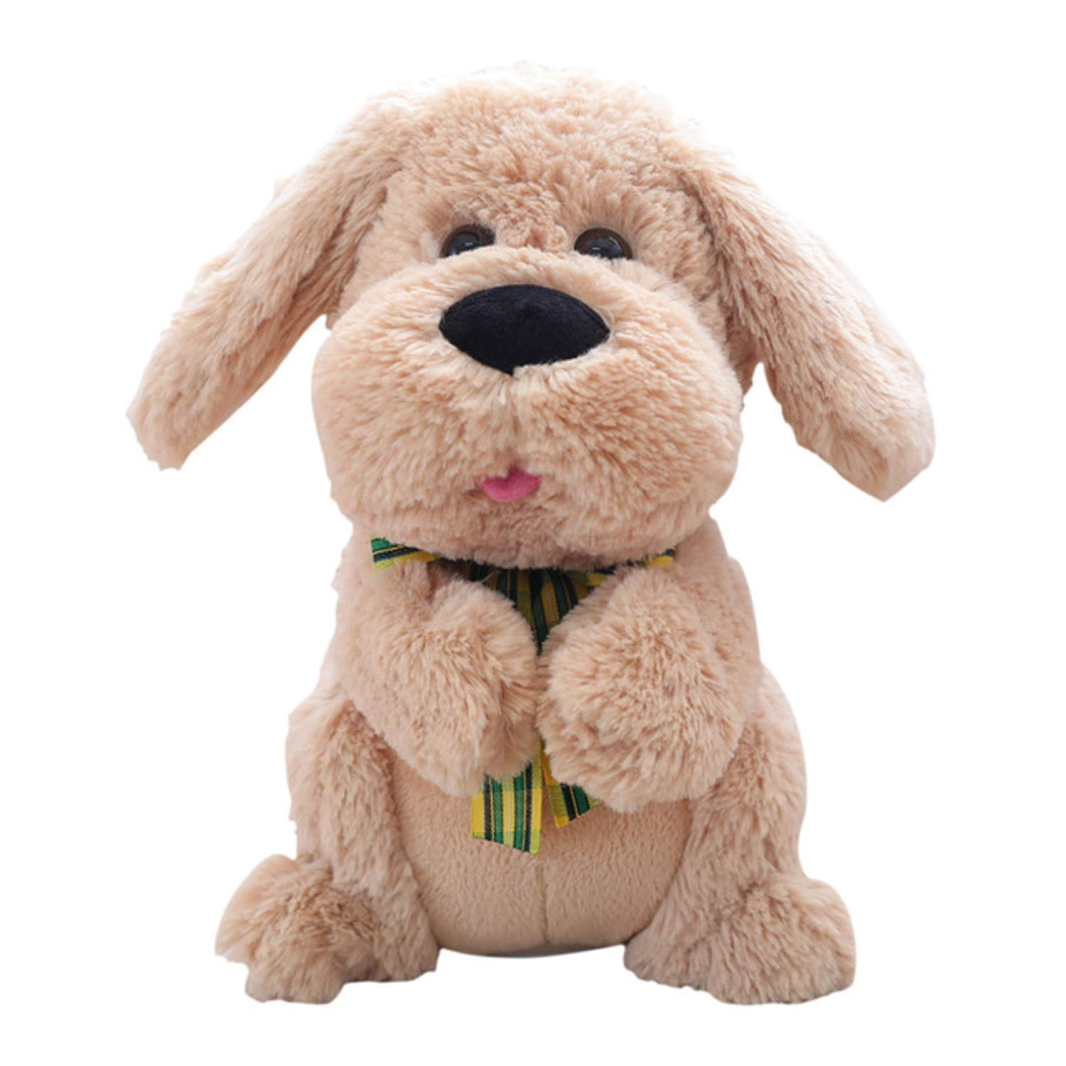 Amazon.com: JEWH [1PCS 28CM] Electrical Peek A Boo Dog Plush Stuffed Animals Singing Baby Music Toys Ears Flaping Move Interactive Doll Kids Gifts: Toys & ...