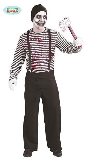 Disfraz mimo asesino  Amazon.es  Juguetes y juegos b3c43ea331f