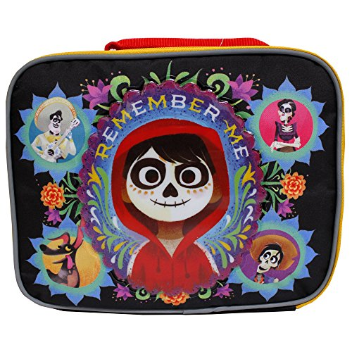 Price comparison product image Disney Coco Colorful Black Children's Insulated School Lunch Bag