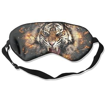 Goods Shops - Máscara de Dormir de Seda de Morera con Ojo de Tigre y angría