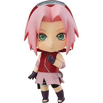 Good Smile Naruto Shippuden: Sakura Haruno Nendoroid Action Figure: Toys & Games