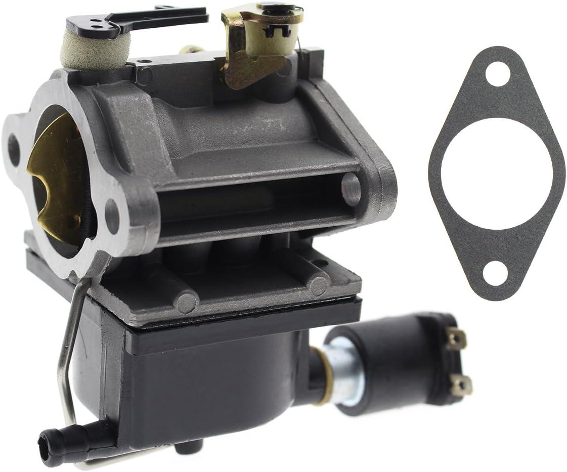 AUTOKAY Carburetor Carb for Tecumseh 640330A 640330 OHV Series w/Fuel Solenoid Engines