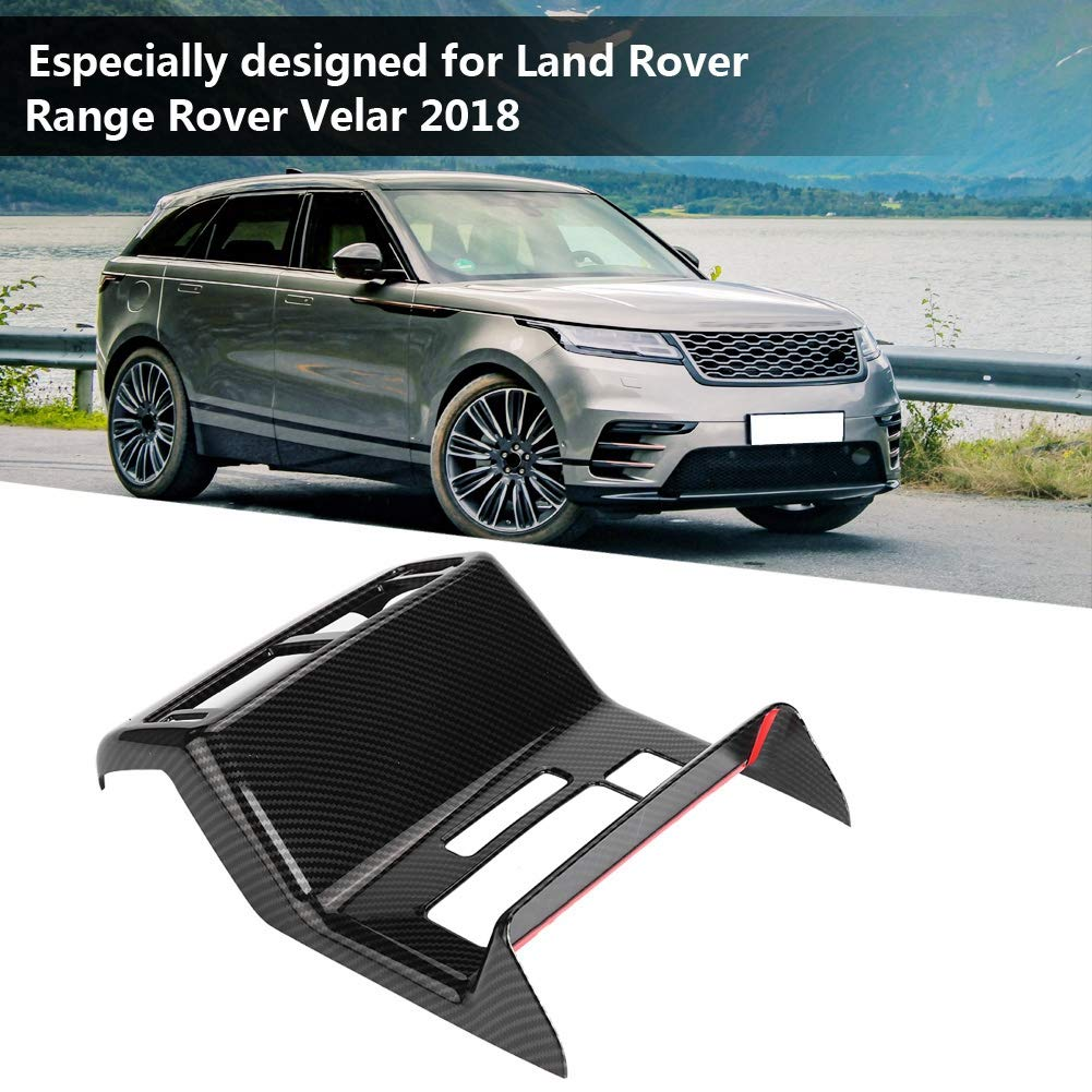 Car Rear Air Conditioning Vent Outlet Frame Cover for 2018 Black Duokon Car Air Outlet Trim Cover
