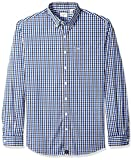 Dockers Men's Big and Tall Long Sleeve Comfort Stretch Button Front Shirt