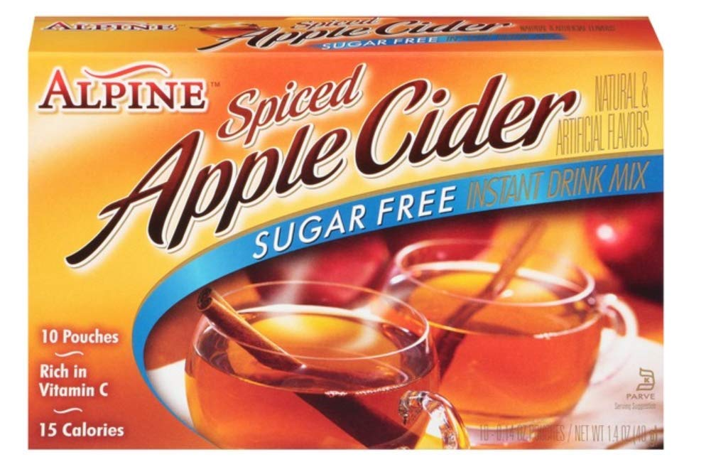 Alpine Spiced Apple Cider Sugar Free-10 pack