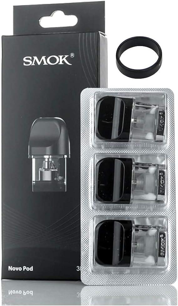 SMOK Novo Kit Sustitución de Cartuchos de Vape 2ml Recargable Vacío 1.5ohm Nic Salt Cartucho de recarga: Amazon.es: Salud y cuidado personal