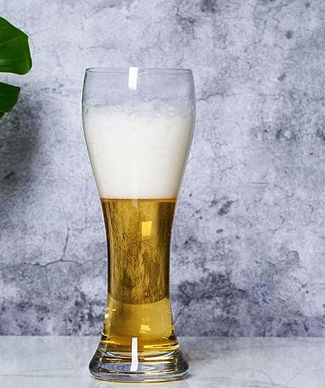 Jarras de Cerveza Juego de 2 jarras de Cerveza calibradas a 1 l ...