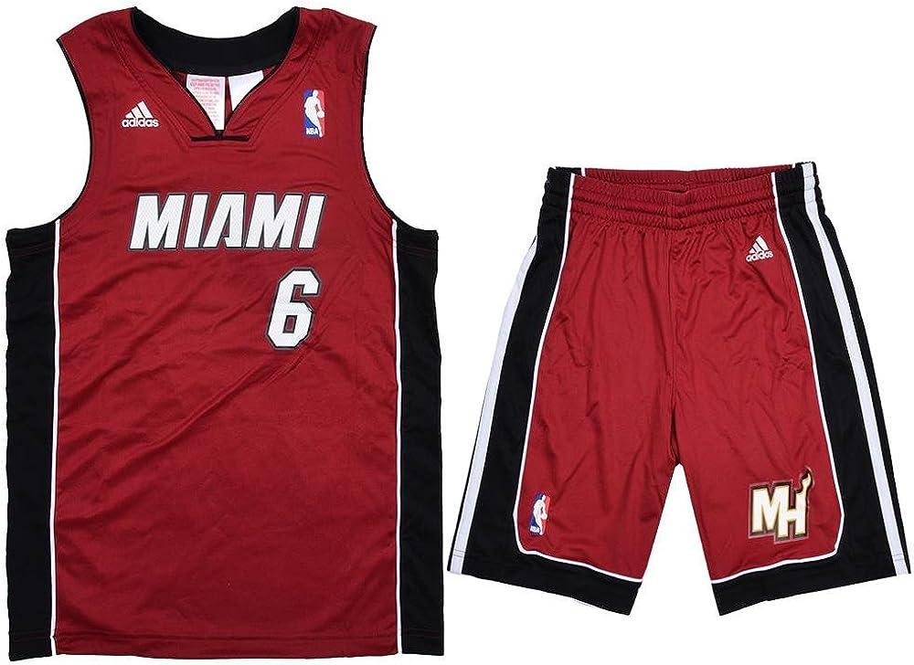 adidas Performance Miami Heat NBA LeBron James niños del ...