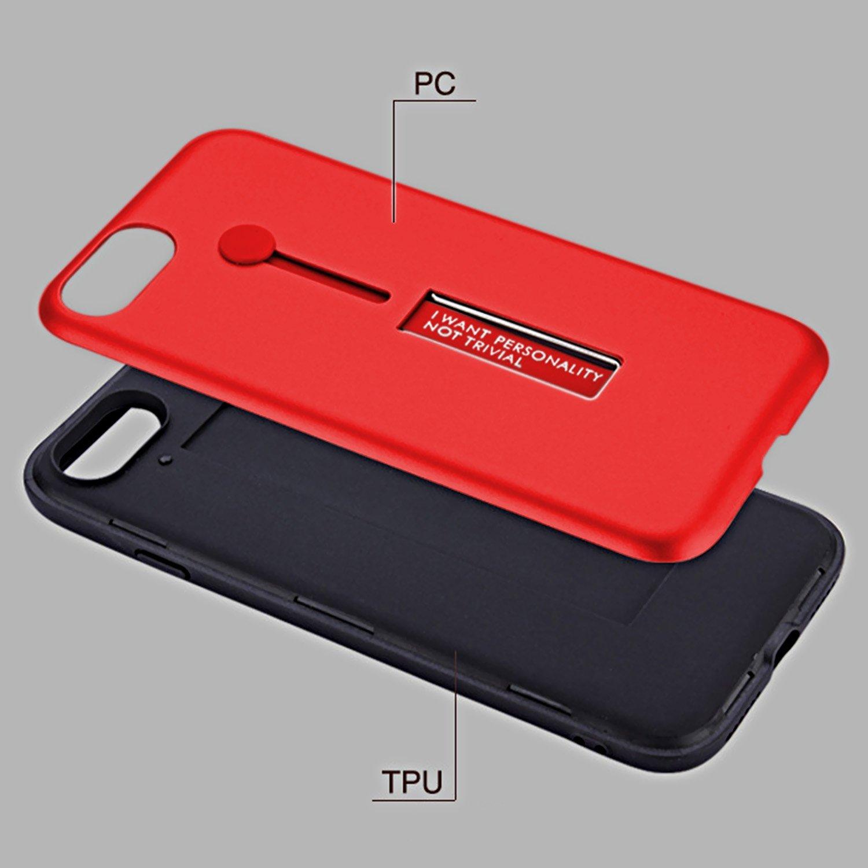 Ultra D/ünn Hardcase mit TPU innere Sto/ßfest H/ülle Schutz/ülle mit Ring St/änder f/ür iPhone 6//6s 4,7 Zoll ZXK CO iPhone 6 H/ülle st/änder