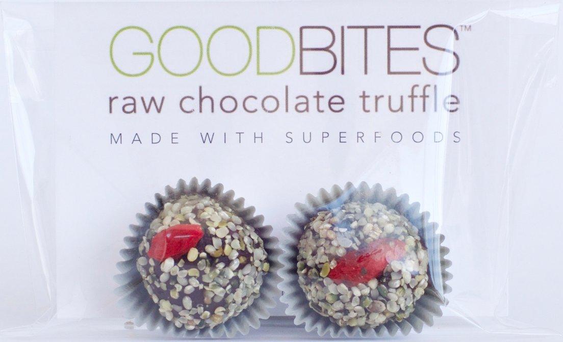 GoodBites Raw Chocolate Truffle - 1.0 ounce 2Packs - Case of 12