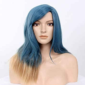 "STfantasy Wigs for Women Long Wavy Heat Friendly Synthetic Hair 22"" 186g Full Wig Peluca"
