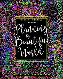 Amazon.com: Planning a Beautiful World | Weekly + Monthly ...