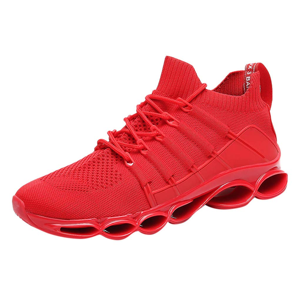 Men's Tennis Shoes Fashion Personality Wild Breathable Sneakers Air Cushion Non-Slip Casual Sports Shoes