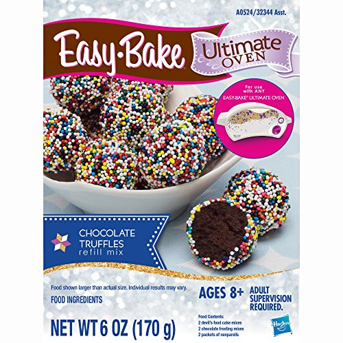 Easy-Bake Ultimate Oven Truffles Refill Pack, 6 oz (Ez Bake Mixes)