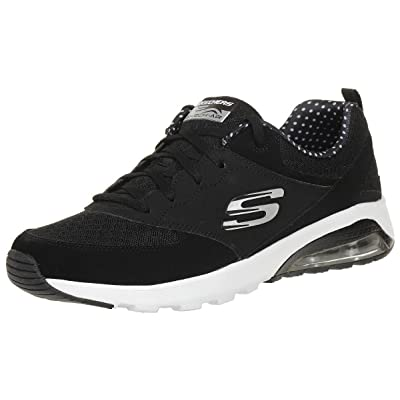Skechers Skech Air Extreme Womens Sneakers Black/White 7.5 | Fashion Sneakers