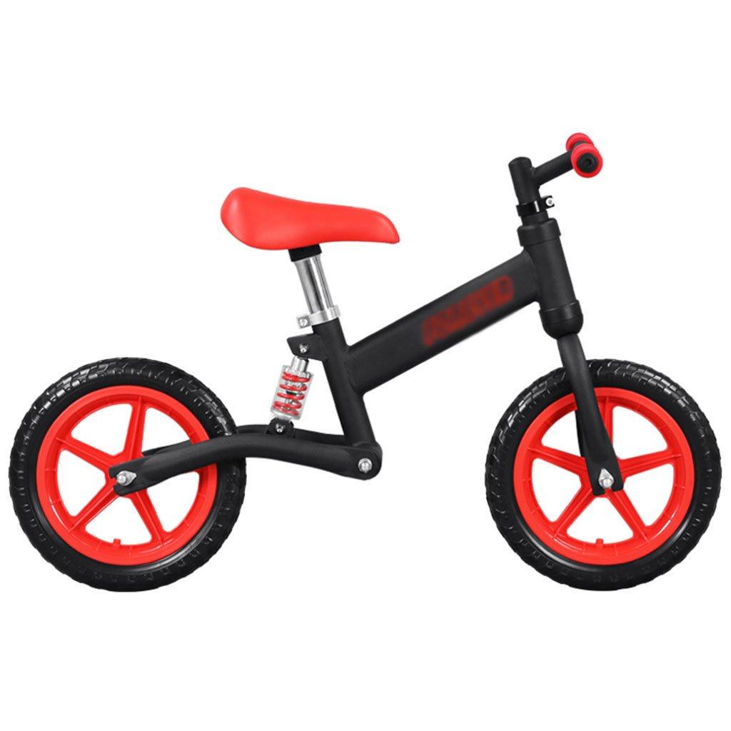 素晴らしい品質 子供のウォーカースライディングカーベビースクーターなしペダル自転車キッズトイレダブルホイール2-6歳 B07FZ84Z48 Red Red B07FZ84Z48 Red Red, 静内町:06eef6b8 --- a0267596.xsph.ru