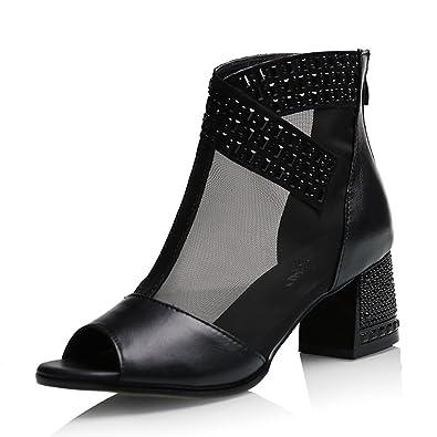 Low Damen SchuheLace Gljxg Mid Heel Gaolongjun Frauschuhe Nm0nw8v