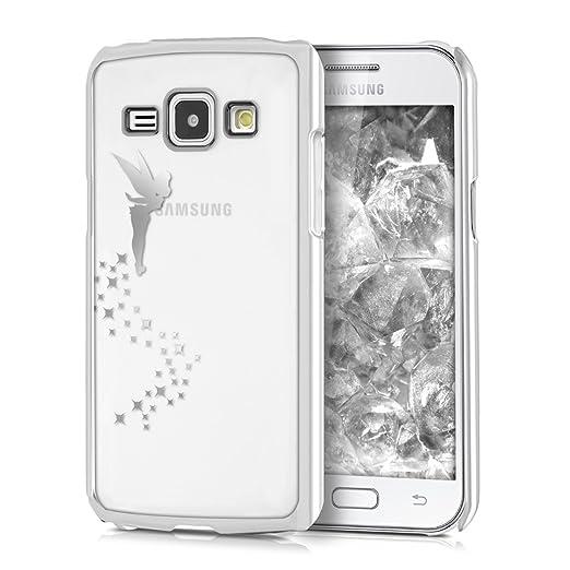 3 opinioni per kwmobile Elegante e leggera custodia Crystal Case Design fata per Samsung Galaxy
