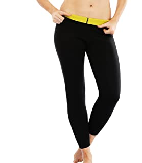 2ed0a4e024157 SEXYWG Sweating Pants Hot Thermo Neoprene Body Shapers Slimming Sauna  Ankle-Length…