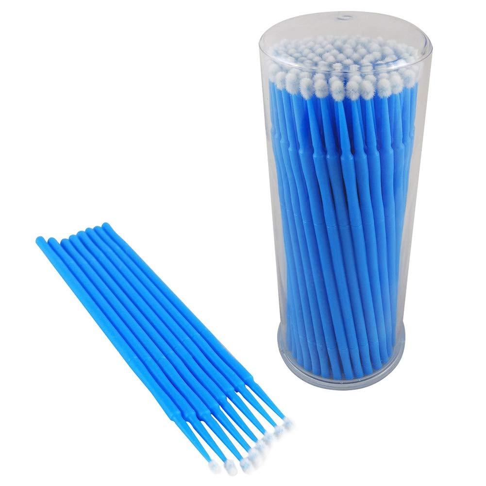 Colore Blu HOPQ 100 Micro applicatori USA e Getta da 2,5 mm per Riparazione di scheggiature di Vernice Auto
