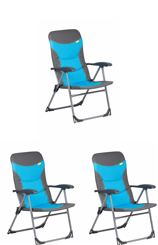 Kampa Skipper Sessel blau x 3