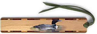 product image for Loon - (Double Sided) Wooden Bookmark with Suede Tassel