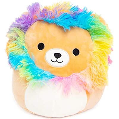SQUISHMALLOWS - Richard The Rainbow Mane Lion - Plush Stuffed Animal Figure - 9 Inch: Toys & Games